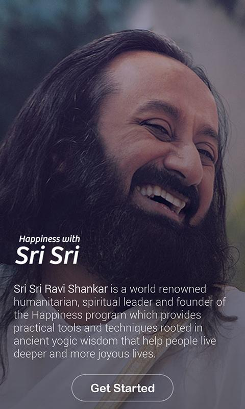 Happiness with Sri Sri- screenshot