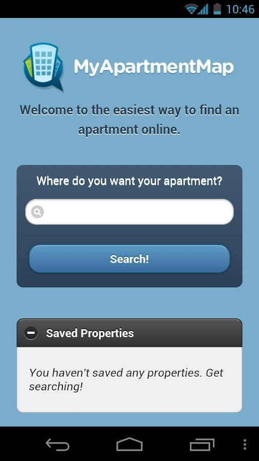 MyApartmentMap Apartments Tool - screenshot