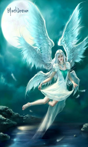 3D Angels Live Wallpaper