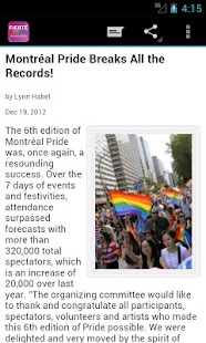 Montréal Pride - screenshot thumbnail