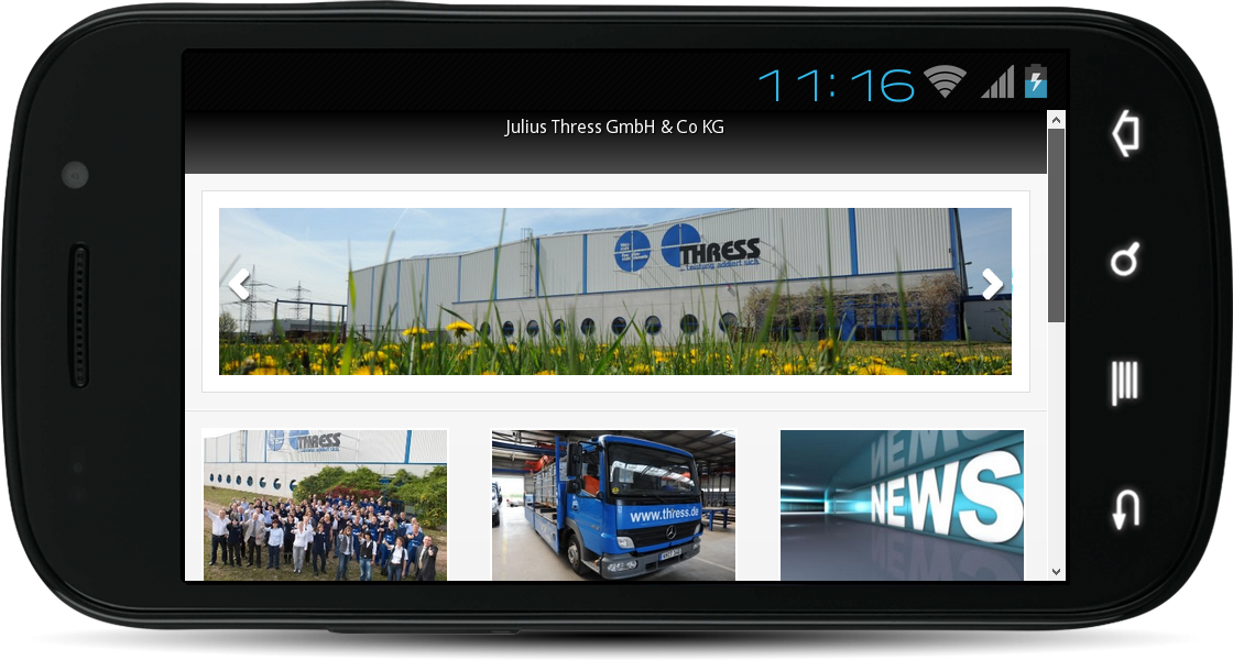 Julius Thress GmbH & Co. KG- screenshot