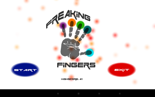 Freaking Fingers:fastest game