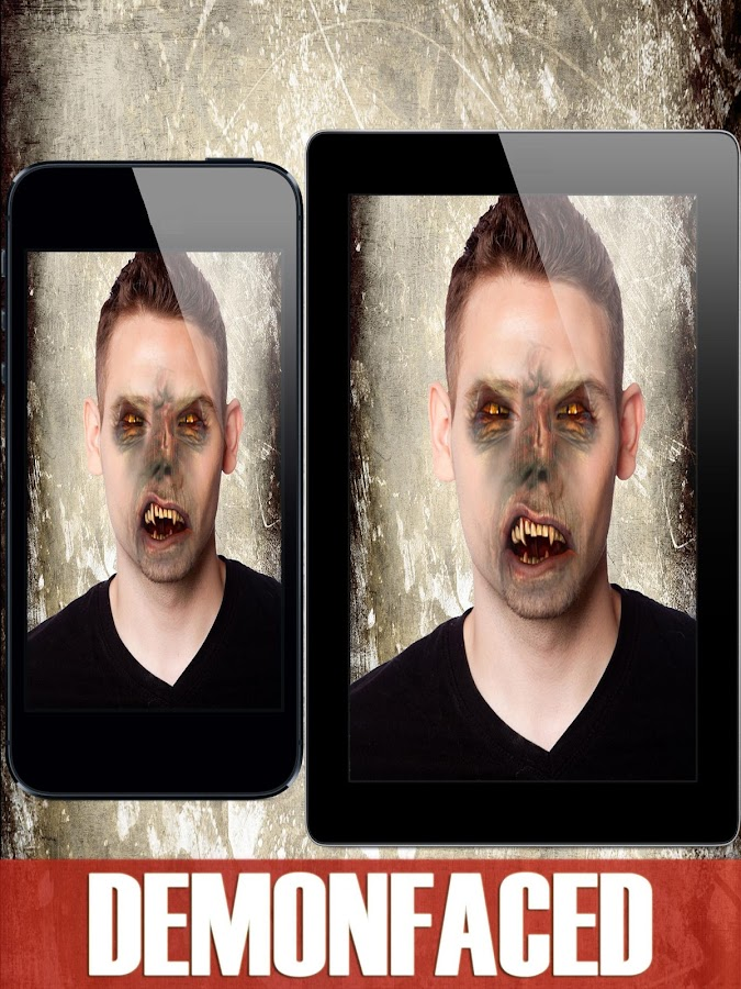Demon Face - Scary Booth FX- screenshot