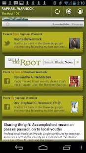 Raphael Warnock: The Root 100 - screenshot thumbnail