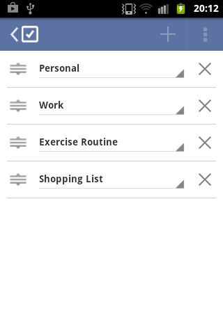 Tasks - Todo / Task management- screenshot