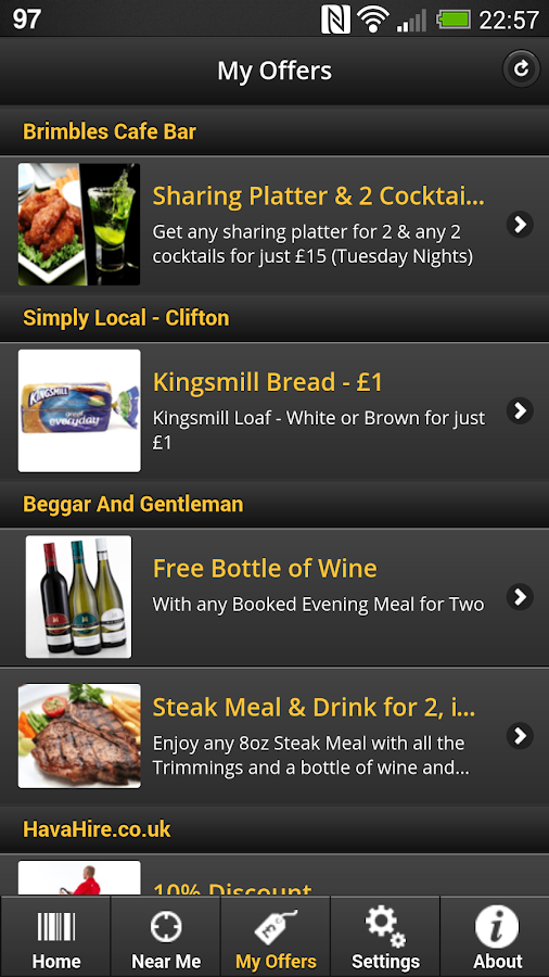 Spotamo - Local Discounts- screenshot