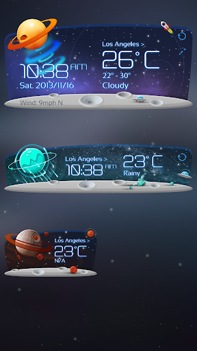 Unknown Planet Theme GOWeather