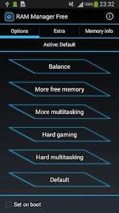 RAM Manager Free - screenshot thumbnail