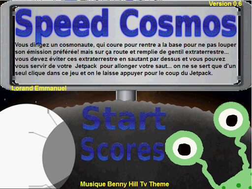 Speed Cosmos