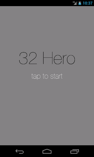 32 Hero - Touch the Numbers