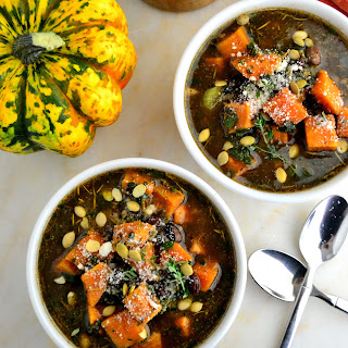 Hearty Black Bean and Pumpkin Soup