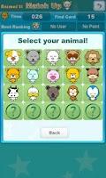 Screenshot of Animal 21 Match Up