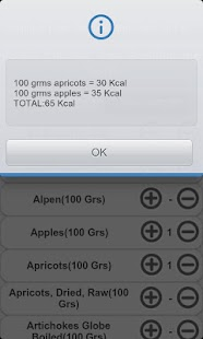 Calories fats proteins carbs - screenshot thumbnail