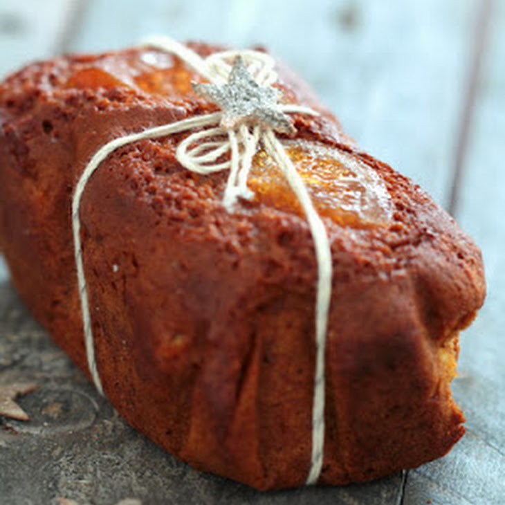Gingerbread with Candied Orange Recipe