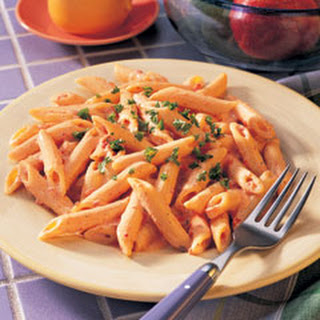 Penne Pasta Alfredo Sauce Vegetarian Recipes.