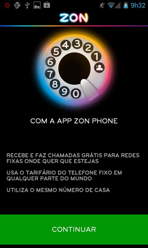 ZON Phone - screenshot