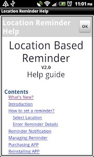 Location Reminder - screenshot thumbnail