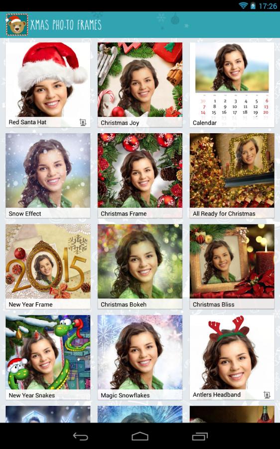 Christmas Photo Frames - screenshot