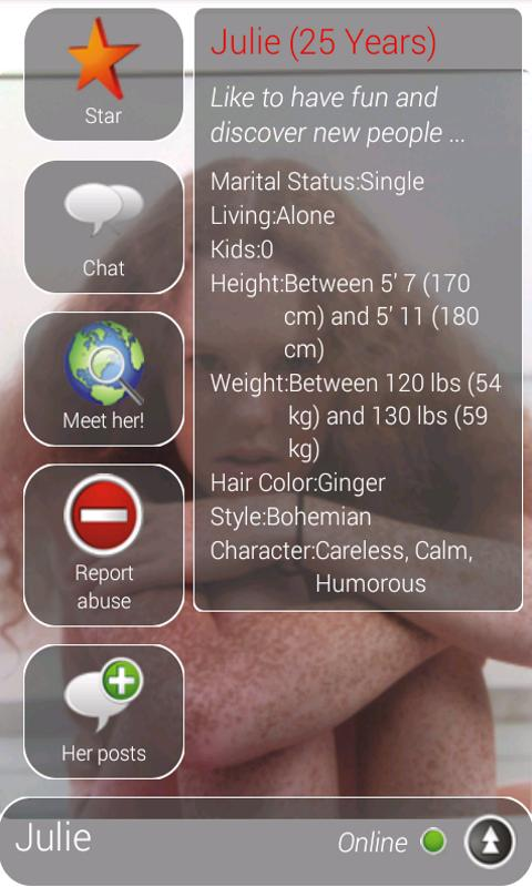 DATING (meet singles)- screenshot