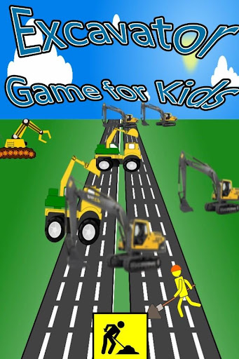 Excavator Game for Kids