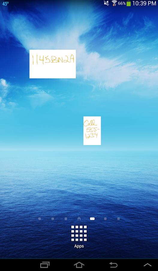 Scribble Pad - screenshot
