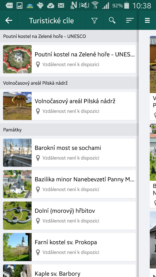 The city of Zdar nad Sazavou - screenshot