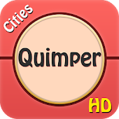 Quimper Offline Map Guide