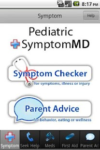 Pediatric SymptomMD - screenshot thumbnail