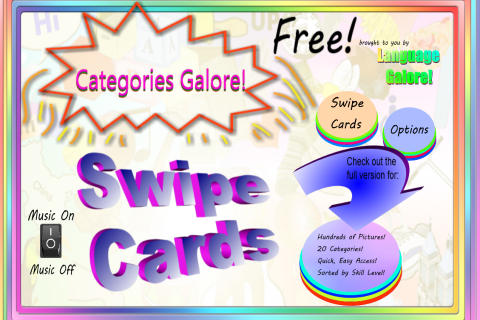 Category Swipe Cards Free