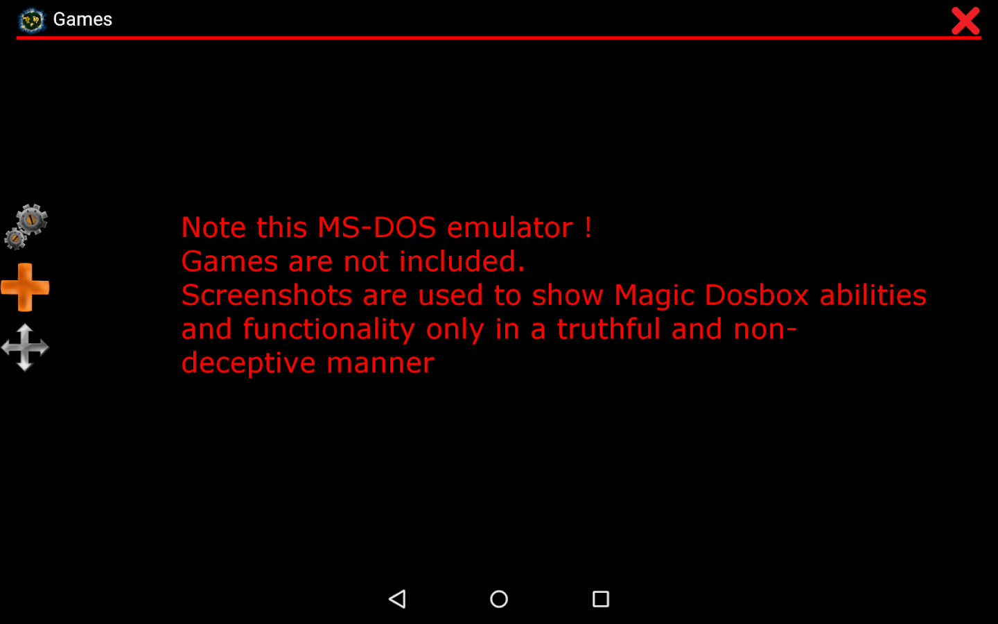 Magic Dosbox Free- screenshot