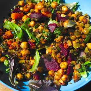Moroccan Chickpea and Carrot Salad.