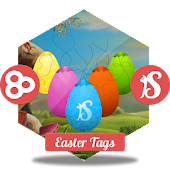 Easter Tags GO Launcher