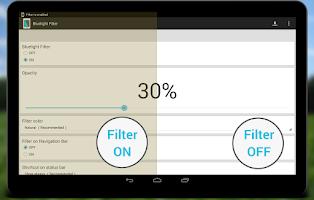 Screenshot of Bluelight Filter License Key