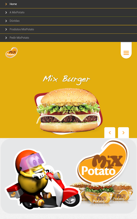 Mix Potato Delivery - screenshot