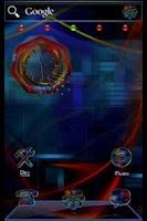Screenshot of ADWTheme Techno Rainbow