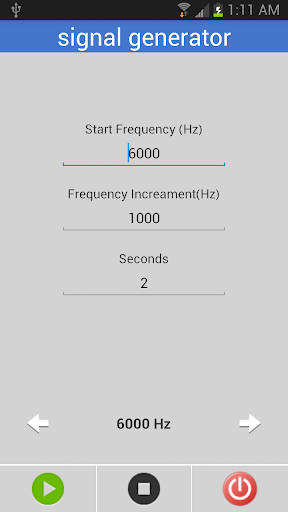 Simple Signal Generator