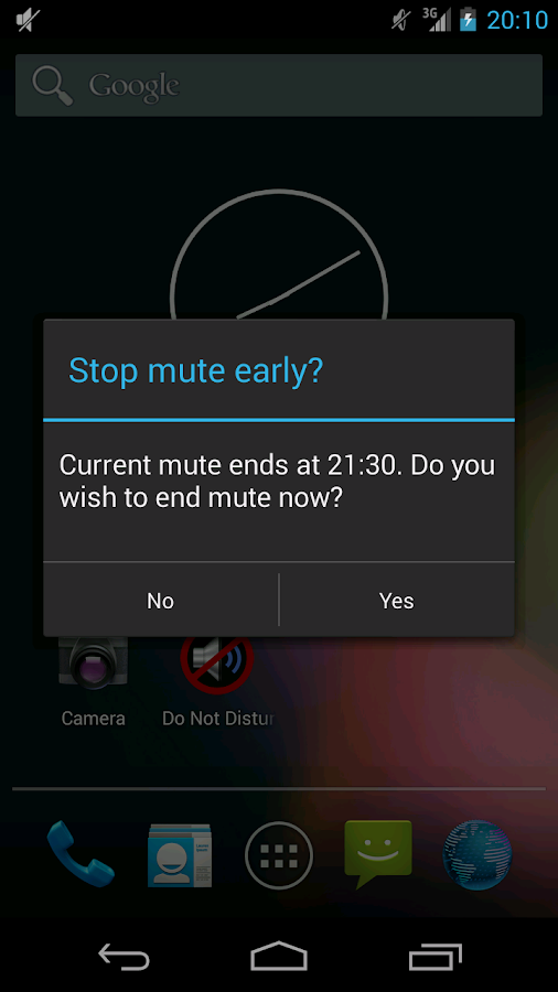 Do Not Disturb - screenshot