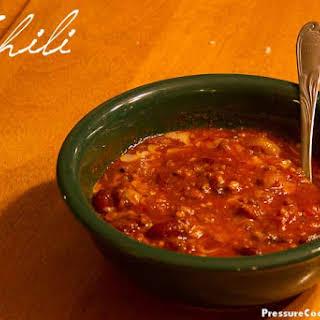 Easy Chili.