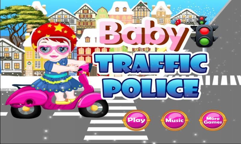 Baby Police: Traffic Control - screenshot