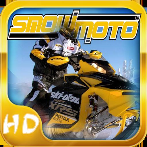 雪摩托賽車高清 LOGO-APP點子