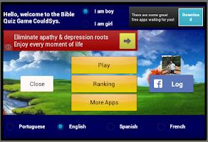 Screenshot of Bible Quiz
