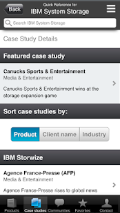 IBM Systems and Storage - screenshot thumbnail
