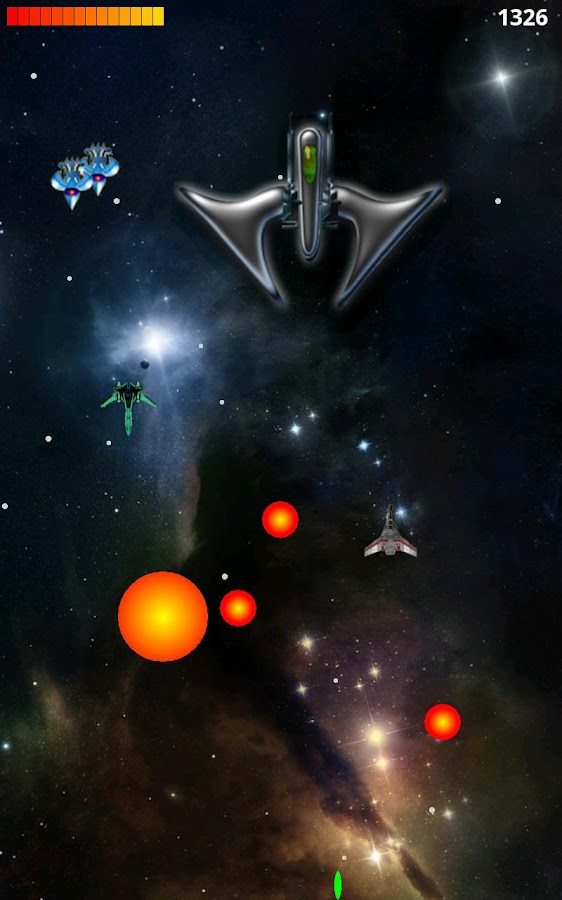 Space War HD- screenshot