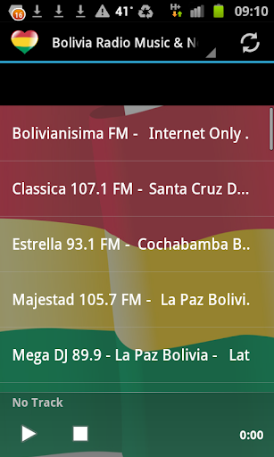 Bolivia Radio Music News
