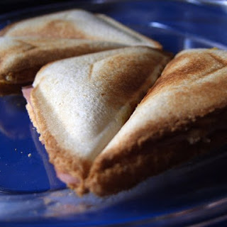 Indian Toastie Sandwich.
