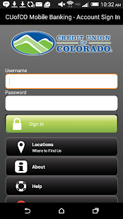 CU of Colorado Mobile Banking - screenshot thumbnail