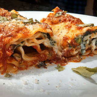 Meatless Monday ~ Spinach Lasagna Rolls