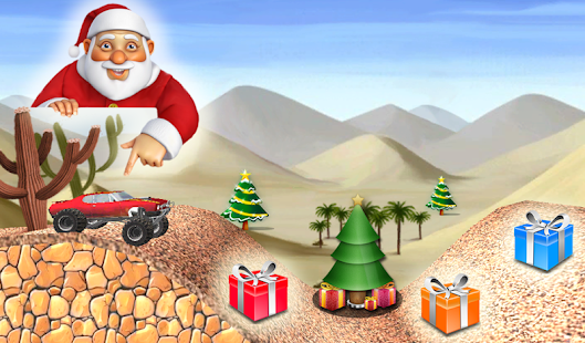 Santa Hill Climber screenshot