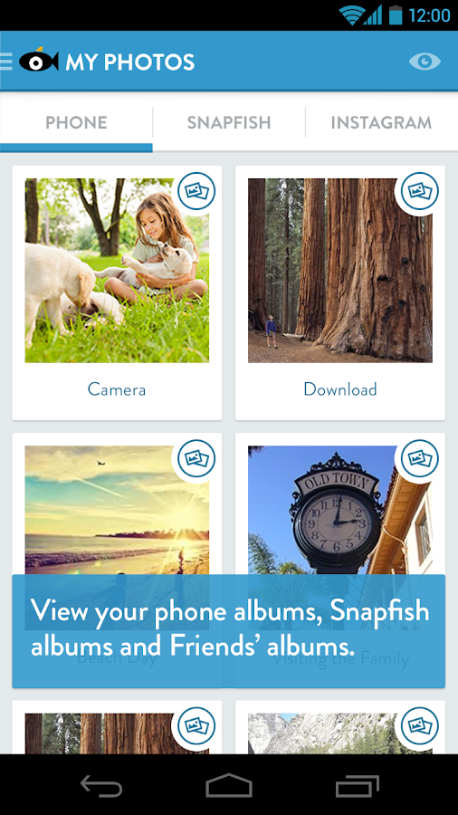 Snapfish - screenshot