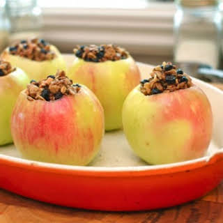 Maple Pecan Baked Apples.